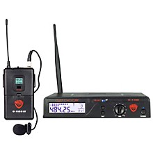 Open Box Nady U-1100 LT - 100 Channel UHF Wireless System with Omnidirectional Lavalier/Lapel Microphone