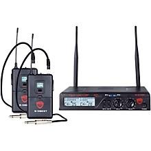 Open BoxNady U-2100 GT - Dual Channel UHF Wireless Guitar/Instrument System