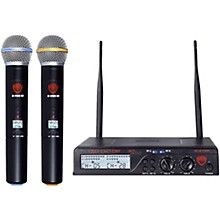 Open Box Nady U-2100 HT - Dual 100 Channel UHF Handheld Wireless Microphone System