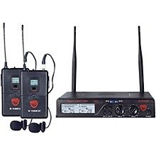 Open Box Nady U-2100 LT - Dual Channel UHF Wireless System with Omnidirectional Lavalier/Lapel Microphone