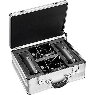 Neumann U 87 AI Large-diaphragm Condenser Microphone, Stereo Set