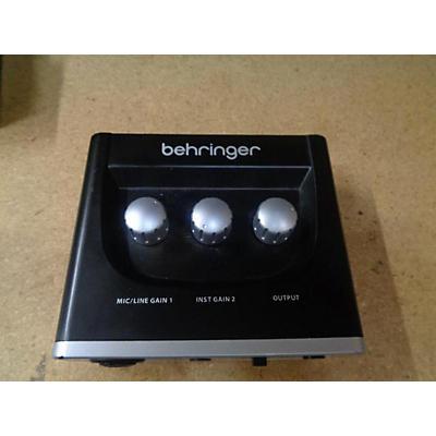 Behringer U-Phoria UM2 Audio Interface