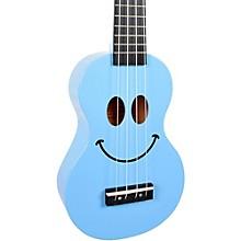 U Smile Soprano Ukulele Light Blue