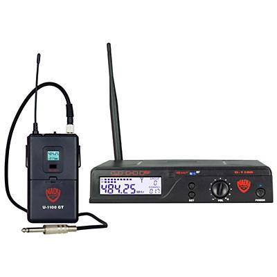 Nady U1100 GT100 Channel UHF Wireless Guitar/Instrument System