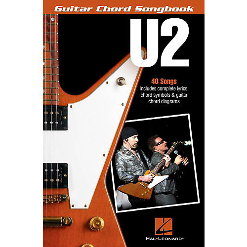 Hal Leonard U2 - Guitar Chord Songbook