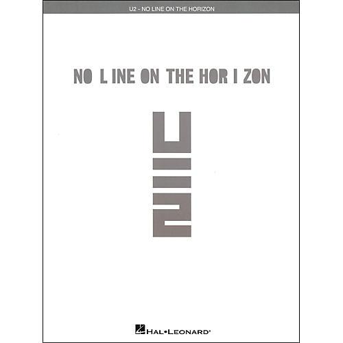Hal Leonard U2 - No Line On The Horizon arranged for piano, vocal, and guitar (P/V/G)