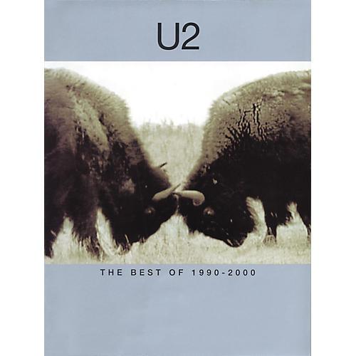 Hal Leonard U2-Best of 1990-2000 Piano, Vocal, Guitar Songbook