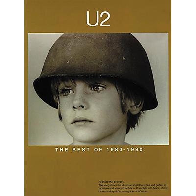 Hal Leonard U2 The Best of 1980-1990 Guitar Tab Songbook