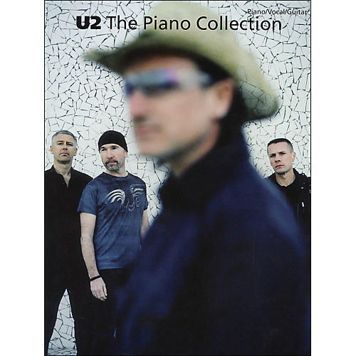 Hal Leonard U2 The Piano Collection arranged for piano, vocal, and guitar (P/V/G)