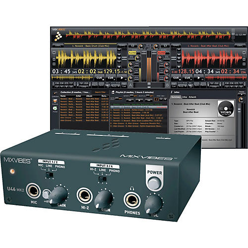 MixVibes U46MK2 USB Mobile Recording Interface
