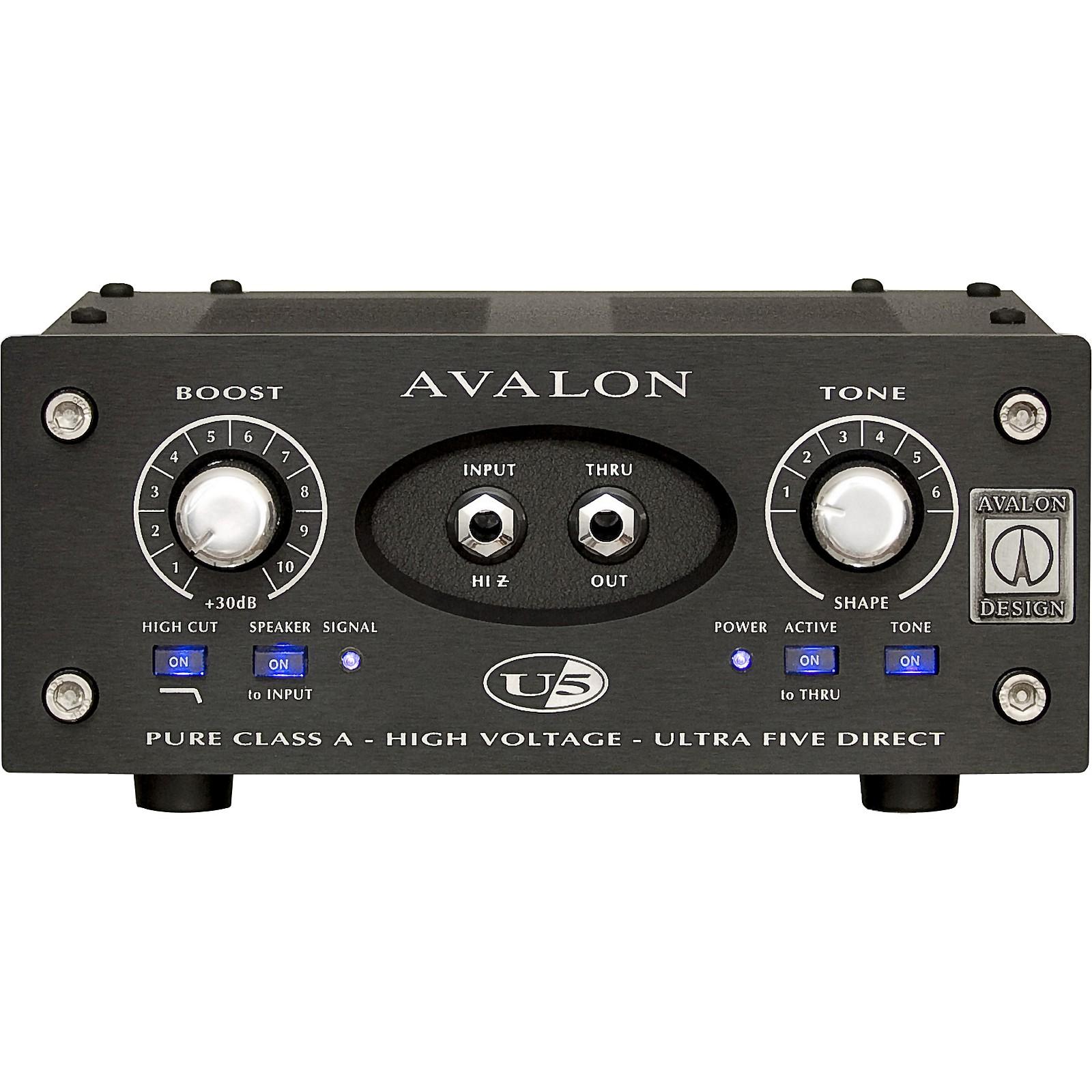 Avalon U5 Direct Box Instrument Preamplifier - 15th Anniversary