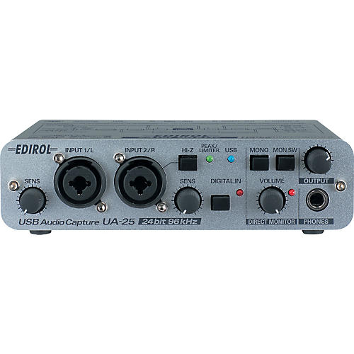 Edirol UA-25 USB Bus Powered Stereo Audio Interface