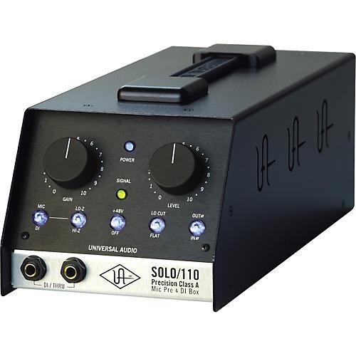 Universal Audio UA-S110 SOLO/110 Precision Class A Microphone Preamp and DI Box