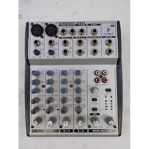 UB802 Unpowered Mixer