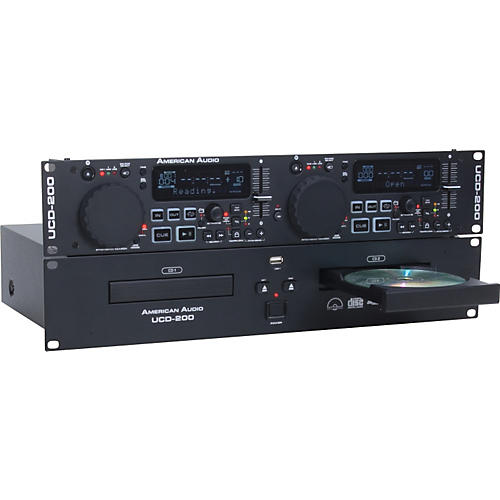 American Audio UCD-200 Dual MP3/CD Player