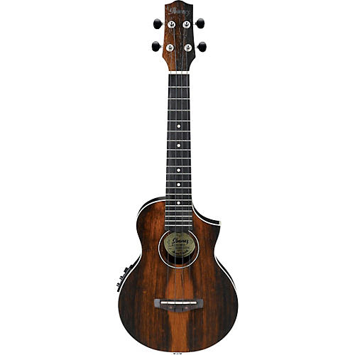 Ibanez UEW13MEE Acoustic-Electric Concert Ukulele Satin Natural