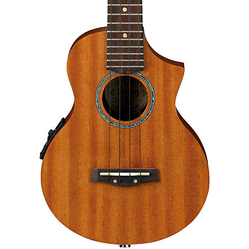 ibanez uew5e all mahogany concert acoustic electric ukulele natural musician 39 s friend. Black Bedroom Furniture Sets. Home Design Ideas