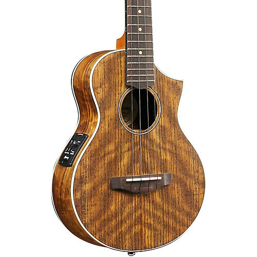 Ibanez Uewt14e Exotic Wood Tenor Acoustic Electric Ukulele