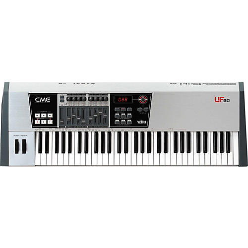cme uf 60 61 key master keyboard midi controller musician 39 s friend. Black Bedroom Furniture Sets. Home Design Ideas