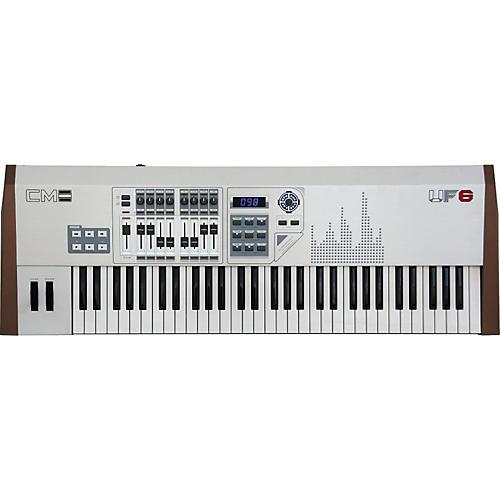CME UF-6MLan Silver Edition Keyboard Controller