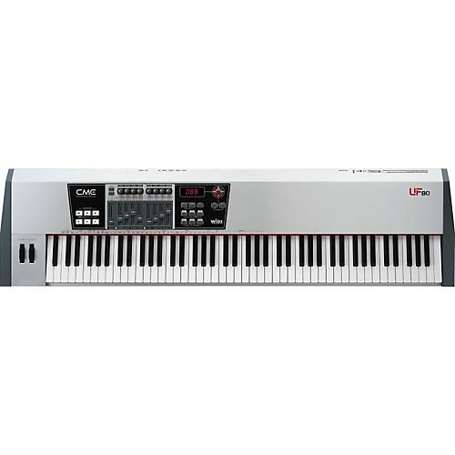 cme uf 80 88 key master keyboard midi controller musician 39 s friend. Black Bedroom Furniture Sets. Home Design Ideas