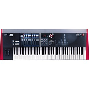 cme uf6 61 key midi controller musician 39 s friend. Black Bedroom Furniture Sets. Home Design Ideas