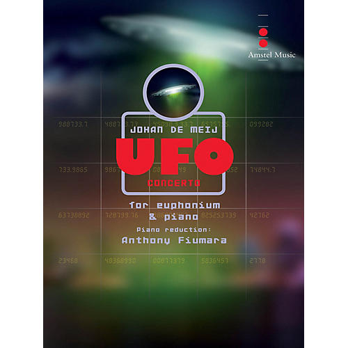 Amstel Music UFO Concerto (Piano Reduction) Concert Band Level 5 Composed by Johan de Meij
