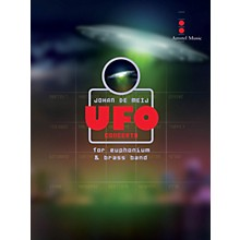 Amstel Music UFO Concerto (for Euphonium and Brass Band) (Score Only) Concert Band Level 5 Composed by Johan de Meij