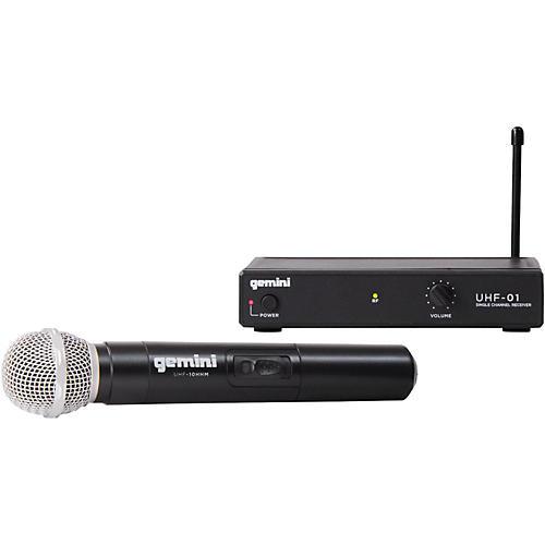 Gemini UHF-01M Wireless Handheld Microphone System F1