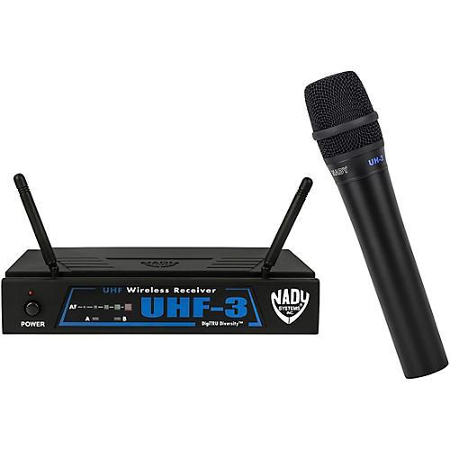 Nady UHF-3 Handheld Wireless System MU1/470.55
