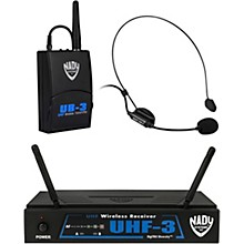 Open Box Nady UHF-3 Headset HM-3 Wireless System