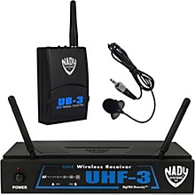 Open BoxNady UHF-3 Lavalier Wireless System