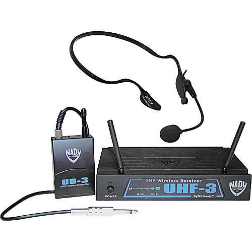 Nady UHF-3HM3-5 Headset Wireless System