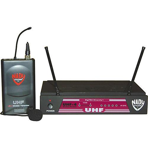 Nady UHF-4/LT Lavalier Wireless System