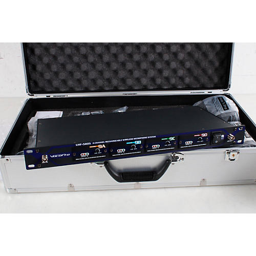 Vocopro UHF-5805 Plus Rechargeable Wireless System with Mic Bag Condition 3 - Scratch and Dent Band 9 194744325366