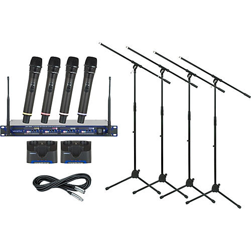 VocoPro UHF-5805 Rechargeable Wireless Package