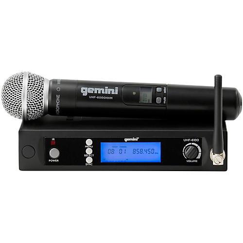 Gemini UHF-6100M Single Handheld Wireless System Condition 2 - Blemished Regular 194744025440