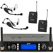Open BoxGemini UHF-6200HL Dual Lavalier Wireless Headset System
