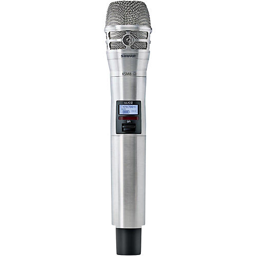 Shure ULXD2/K8N Handheld Transmitter with KSM8 Capsule in Nickel Band G50