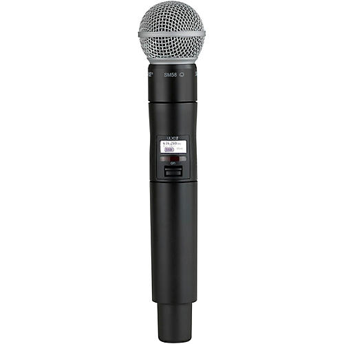 Shure ULXD2/SM58 Handheld Transmitter with SM58 Microphone