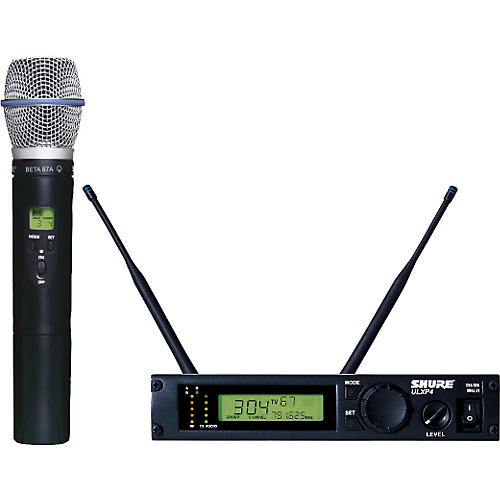 Shure ULXP24/BETA87A Handheld Wireless Microphone System