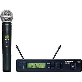 shure ulxs24 58 handheld wireless microphone system j1 musician 39 s friend. Black Bedroom Furniture Sets. Home Design Ideas