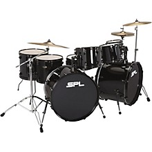 UNITY 8-Piece Double Bass Drum Shell Pack with PDP Hardware Black