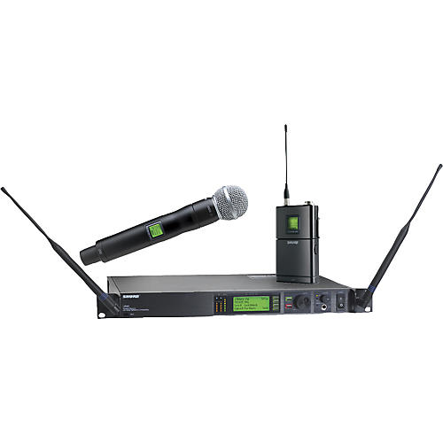 shure ur124s sm58 combo wireless instrument microphone system musician 39 s friend. Black Bedroom Furniture Sets. Home Design Ideas