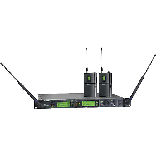 Shure UR14D Dual Bodypack Wireless Instrument System