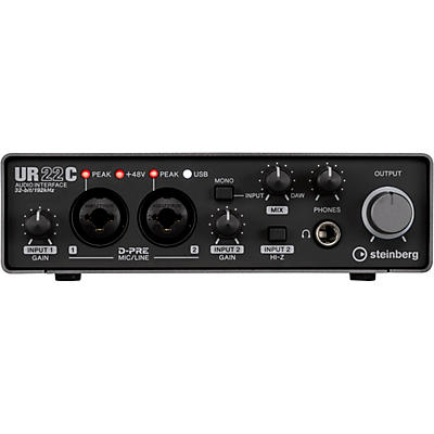 Steinberg UR22C 2IN/2OUT USB 3.0 Type C Audio Interface