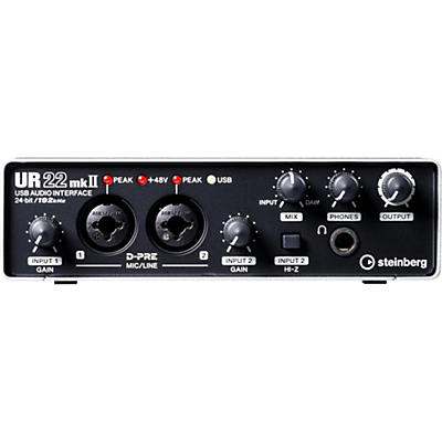 Steinberg UR22mkII USB 2.0 Audio Interface