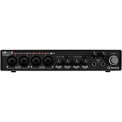 Steinberg UR44C 6IN/4OUT USB3.0 Type C Audio Interface