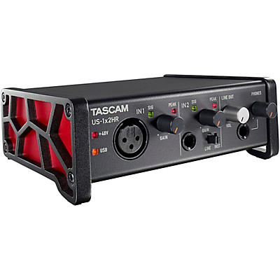 Tascam US-1X2HR 2-Channel USB Audio Interface