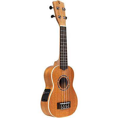 Stagg US-30 E Soprano Acoustic-Electric Ukulele